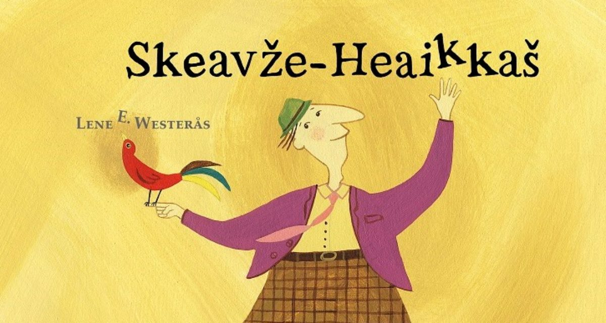 Lene E. Westerås med tospråklig barnebok: «Henki Hinkerud»