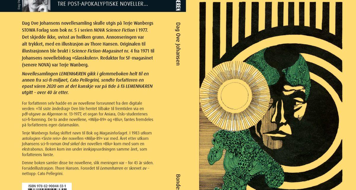 «Lemenhæren» – ny utgivelse fra Dag Ove Johansen