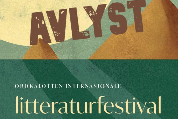 AVLYST! Ordkalotten – Litteratur og smittervern på Storgata Camping